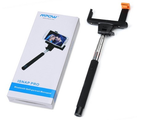 Mpow® iSnap Pro 2-In-1 Self-portrait Monopod Extendable Selfie Stick