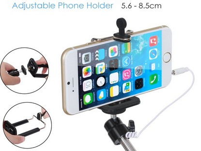 Selfie Stick with extendable phone holder
