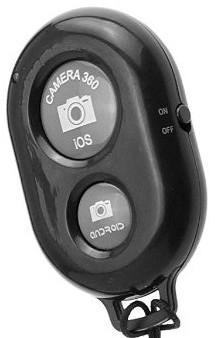 Bluetooth remote for selfie stick