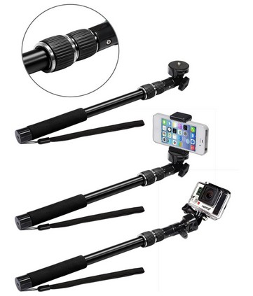 best gopro selfie stick review 2016 what 39 s the best selfie stick for iphone 6 plus. Black Bedroom Furniture Sets. Home Design Ideas