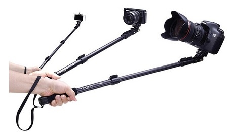 great selfie stick with various device