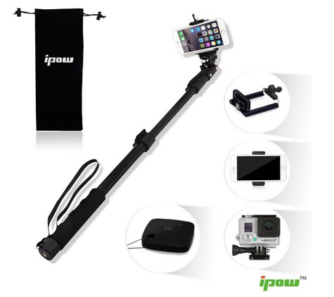 Ipow® Professional Extendable Self-portrait Selfie Stick Review