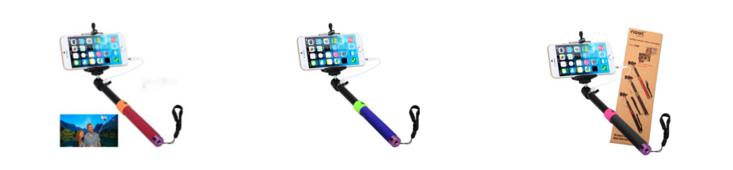 colors of selfie stick