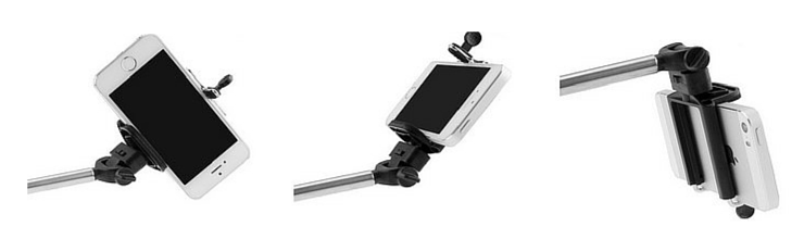 rotable phone holder