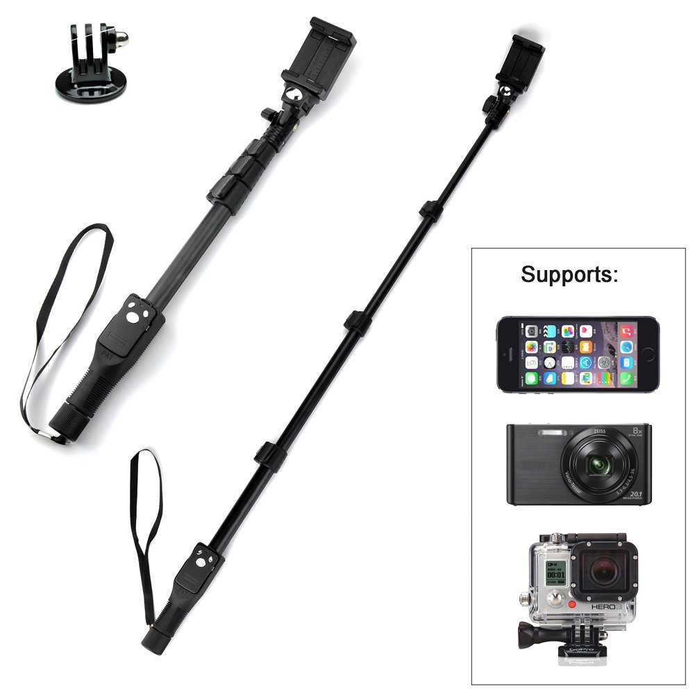 what 39 s the best selfie stick for iphone 6s plus reviews magical selfie stick. Black Bedroom Furniture Sets. Home Design Ideas